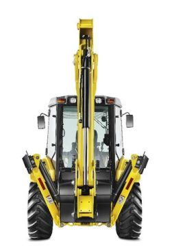 Retro Escavadeira New Holland B90B 4x2