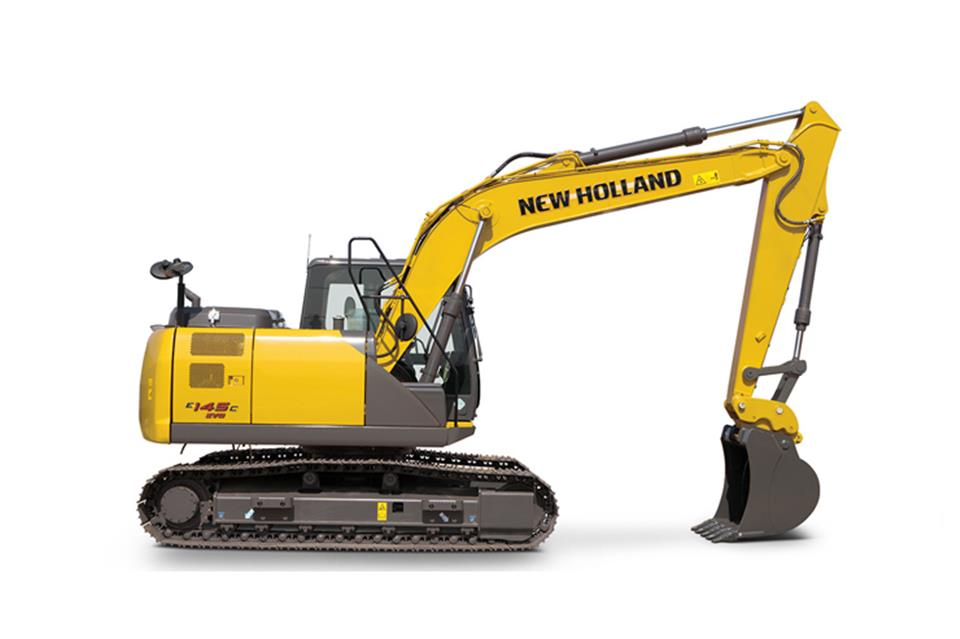 Escavadeira New Holland E145C EVO