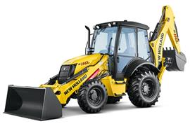 Retro Escavadeira New Holland B110B 4x4